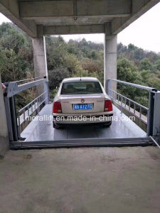 Four Post Hydraulic Car Parking Lift for Home Use pictures & photos