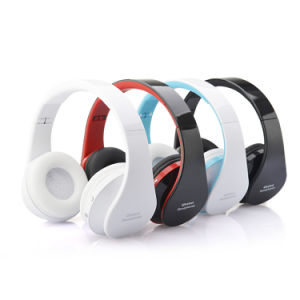 Bluetooth Wireless Over-Ear Stereo Headphones Wireless/Wired Headsets with Microphone pictures & photos