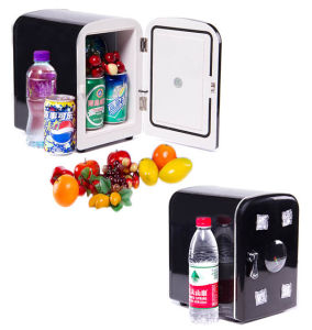 Mini Electronic Cooler 4liter DC12V, AC100-240V Can Use on Car or at Home pictures & photos