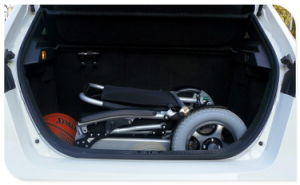 Tiny 6L Folding Electric Wheelchair pictures & photos
