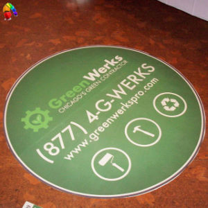 Floor Decal, Stair Sticker, Floor Sticker in Round Shape pictures & photos