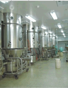 Fluidized Bed Wet Granulating Machine, Dryer Granulator, Fluid Bed Granulator pictures & photos
