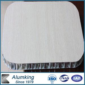 Wooden Veneer Aluminum Honeycomb Composite Panel pictures & photos