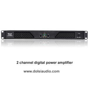1u Class D Four Channel Digital Home Theater Power Amplifier pictures & photos