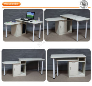 Rotating Office Executive Table with Cabinet (RX-D3501)