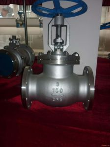 306ss/304ss Body Globe Valve in Flange Type pictures & photos