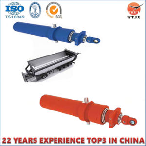 Horizontal Direction Hydraulic Cylinder for Dump Truck/Tipper pictures & photos