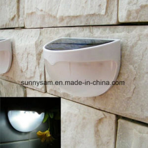 2015 Wholesale Solar LED Outdoor Wall Light with Sensor Waterproof pictures & photos