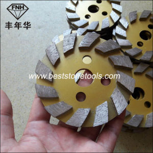 CD-51 Diamond Grinding Plate for Stone Concrete Polishing Machine (4 inch grit 50)