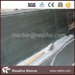 Chinese Green Wood Vein Marble for Slab, Vanity Top pictures & photos