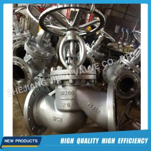 Stainless Steel Pn16/Pn25/Pn40 Flange Globe Valve pictures & photos