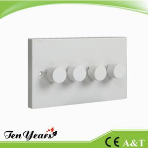 4gang 1W 250W/400W/500W Regulator Light Dimmer Switch