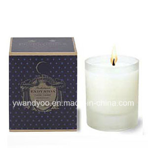 Natural Soy Wax Candle in Glass Jar pictures & photos