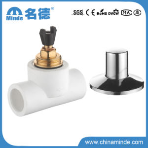 PPR Brass Ball Valve for Water Building Materials (PN25) pictures & photos