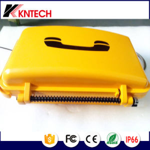 Rugged and Hazardous Industrial Auto Dial Knsp-03t2s Kntech Waterproof Telephone pictures & photos
