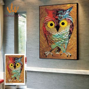 Owl Painting Customzied Mosaic Picture for Wall (MD1097) pictures & photos