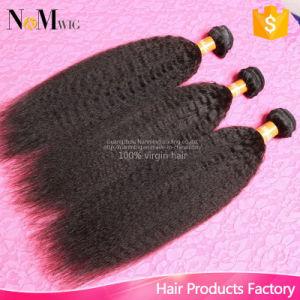 Wholesale Hair Extension Cheap Virgin Brazilian Yaki Straight / Kinky Straight Human Hair pictures & photos