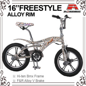 16 Inch Print Decal Color Freestyle Bicycle (ABS-1602S) pictures & photos