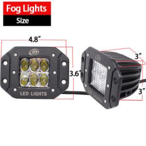 Flush Mount LED Light (3X3 Cube, 20W Flood, IP68 Waterproof) pictures & photos