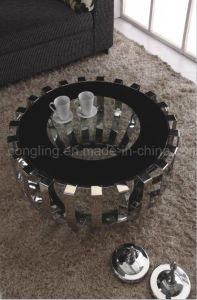 Modern Stainless Steel Round Table for Dining Furniture pictures & photos