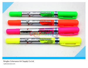 4PCS Hot Sell Dual Tip Highlighter Marker Pen pictures & photos