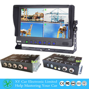 4 Channel Vehicle Car DVR Camera System Xy-7027