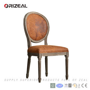 Orizeal Antique French Fabric Upholstered Dining Chair (OZ-DC018) pictures & photos