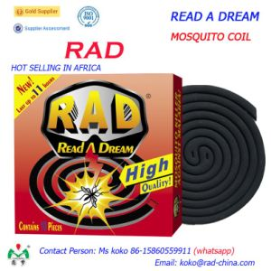 147mm Read a Dream Rad High Quality Quanzhou Factory Brand Black Mosquito Coil Killer