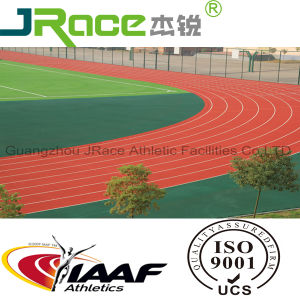 Synthetic Rubber Floor by Iaaf Certificate pictures & photos
