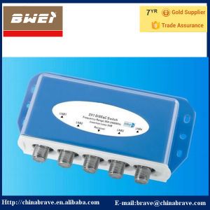 Weatherproof Housing 4 in 1 out Diseqc Switch 4X1 (BT-DS4-1) pictures & photos