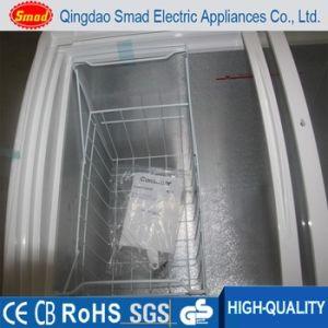 R134A Commercial Sliding Door Glass Top Chest Deep Freezer pictures & photos