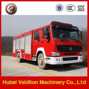 HOWO 4X2 LHD 8, 000 Litres Water Tank Fire Truck pictures & photos