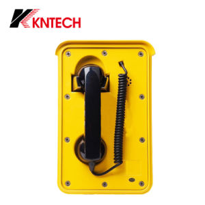 IP Video Door Phone Tunnel Telephones Knsp-10 Kntech Help Point pictures & photos