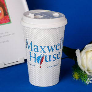 Disposable Cafe Coffee Paper Cup for Drinking