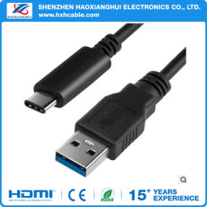 Black USB3.1 Type C to USB 3.0 Am Converter Data Charger Cable pictures & photos
