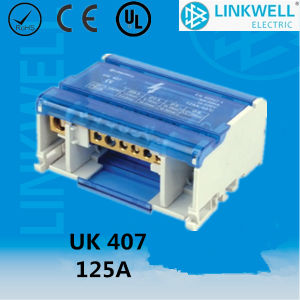 China Manufacture Hot Selling Distribution Terminal Blocks UK407 pictures & photos