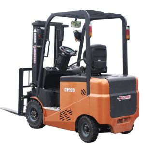 High Quality 2.0 Ton Electric Forklift with Forklift Battery (CPD20E) pictures & photos
