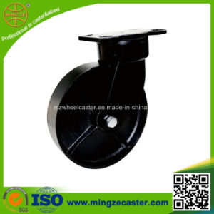 200mm Swivel Black Cast Iron Wheel Caster pictures & photos