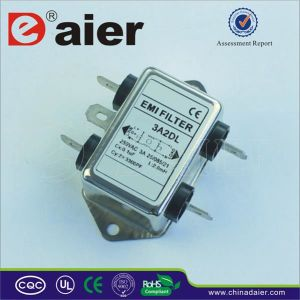 AC Scket Low Loss EMI Rfi Noise EMI Filters pictures & photos