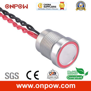 Onpow 16mm Piezoelectric Switch with Light (PS165P10YSS1R12, CCC, CE, RoHS) pictures & photos