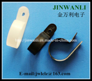 R Style Nylon Cable Clamps Cable Clip pictures & photos