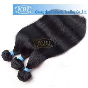 Brazilian Jet Black Human Hair Weft pictures & photos