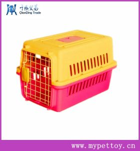 Plastic Handle Pet Carrier Plastic Dog Crate Kenne pictures & photos