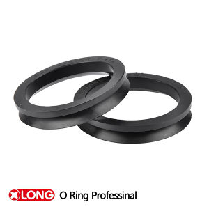 Good Flexible Mini Metric Size HNBR Black V Rings pictures & photos