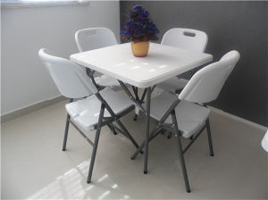 New Folding Plastic Folding Square Table for Outdoor Use