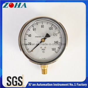 Vibration-Proof Oil Filled Pressure Gauges pictures & photos