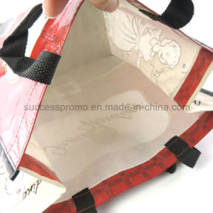 Recycled PET Laminated Shopping Bag, Tote bag for promotion gift pictures & photos