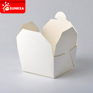 Disposable Take Away Paper Fast Food Catering Packaging pictures & photos