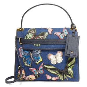 Fashionable butterfly Jeans Lady shoulder handbag(JD-1D) pictures & photos