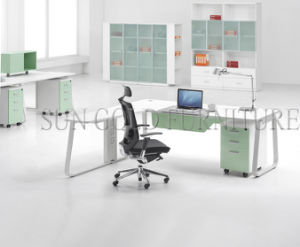 Fashion Office Study Table with Steel Frame Table Leg (SZ-OD354) pictures & photos